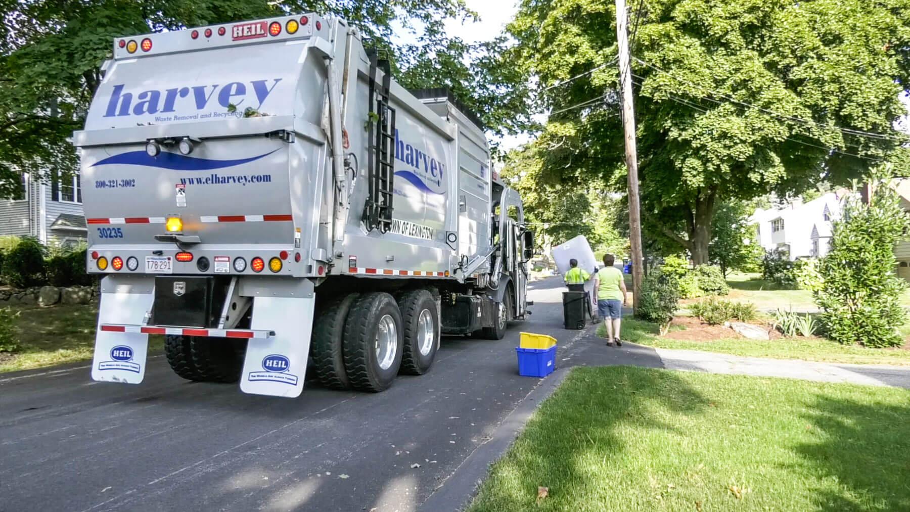 EL Harvey Garbage Truck Video