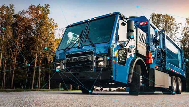 Garbage Truck Fleet Maintenance Technology