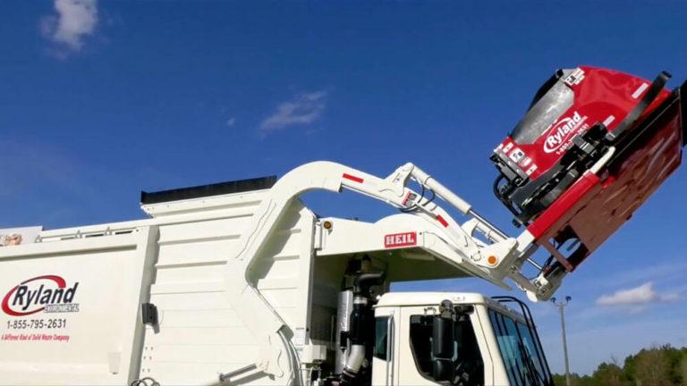 Ryland Environmental Garbage Trucks